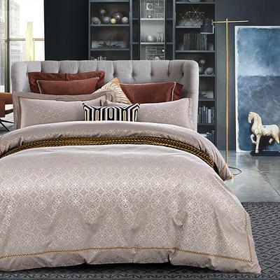 G+家纺 天丝棉提花四件套系列 1.8m(6英尺)床 星空夜曲