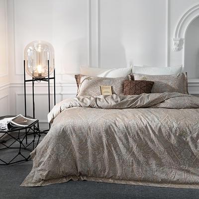 G+家纺 全棉色织四件套 1.5m(5英尺)床 罗马记忆