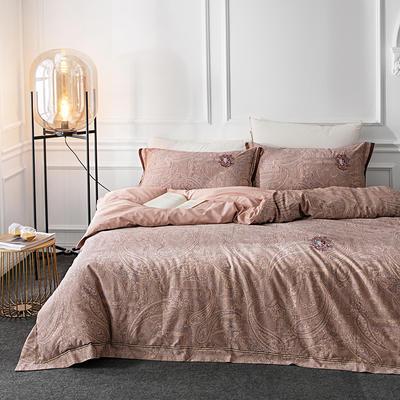 G+家纺 全棉色织四件套 1.5m(5英尺)床 英伦风情