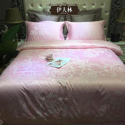 G+家纺 天丝提花四件套 1.8m(6英尺)床 伊夫林