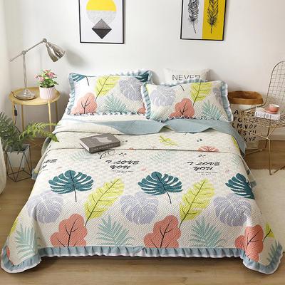 2021新款- 小清新全棉床盖款 单床盖200cm*230cm 米雅