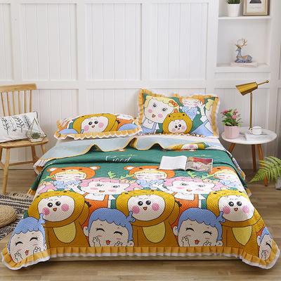 2020新款- 小清新全棉床盖款 单床盖200cm*230cm 童话世界