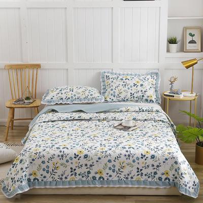 2020新款- 小清新全棉床盖款 单床盖200cm*230cm 伊人