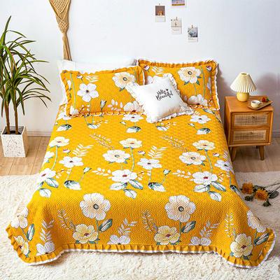 2021新款- 小清新全棉床盖款 单床盖200cm*230cm 意韵东方