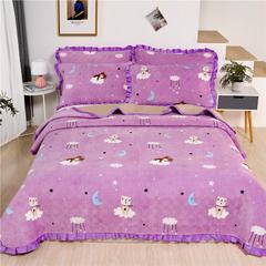2020新款-牛奶绒床盖 单床盖200*230cm 童话王国
