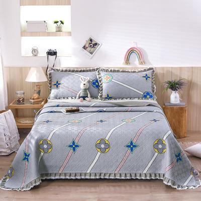 2021新款- 小清新全棉床盖款 单床盖200cm*230cm 巴洛克