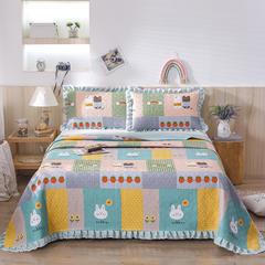 2020新款- 小清新全棉床盖款 单床盖200cm*230cm 贝妮兔