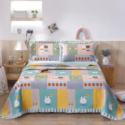 2021新款- 小清新全棉床盖款 单床盖200cm*230cm 贝妮兔