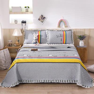 2021新款- 小清新全棉床盖款 单床盖200cm*230cm 格彩童话