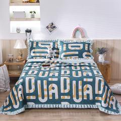 2020新款- 小清新全棉床盖款 单床盖200cm*230cm 漫生活