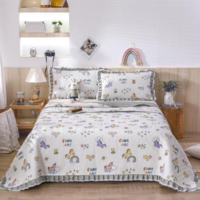 2021新款- 小清新全棉床盖款 单床盖200cm*230cm 梦幻乐园