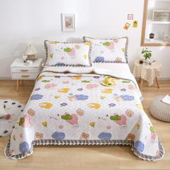 2021新款- 小清新全棉床盖款 单床盖200cm*230cm 可爱乐园