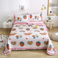 2021新款- 小清新全棉床盖款 单床盖200cm*230cm 森林小镇