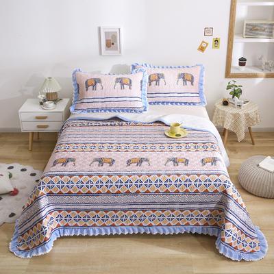 2021新款- 小清新全棉床盖款 单床盖200cm*230cm 森罗万象