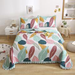 2021新款- 小清新全棉床盖款 单床盖200cm*230cm 森语