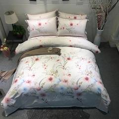 圣艾璐妮  天丝四件套  洛维斯 1.5m(5英尺)床 神秘花园
