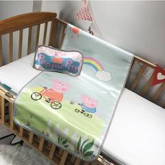 儿童席 婴儿床印花冰丝席 120cmX60cm 小猪佩奇