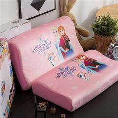 迪士尼正版乳胶儿童乳胶枕头 冰雪奇缘-粉(小号)