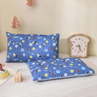 2021新款童真系列-全棉口袋式枕套 40*60cm 快乐星球