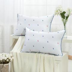 贤内助 红蓝鸭舒适枕护颈保健枕芯安睡助眠枕头