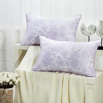 贤内助 印花舒适枕护颈保健枕芯安睡助眠枕头