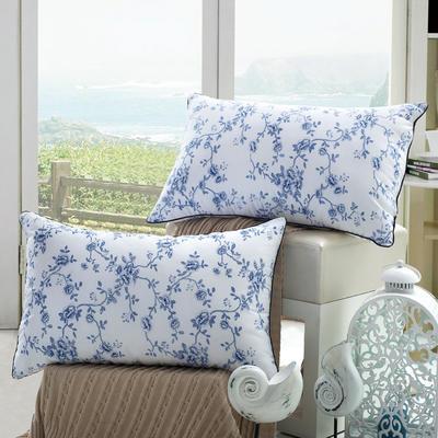 青花瓷舒适枕护颈保健枕芯安睡助眠枕头