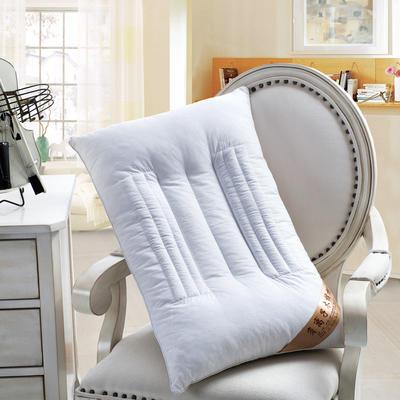賢內助全棉 負離子木棉保健枕護頸保健枕芯安睡助眠枕頭