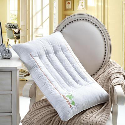 全棉决明子蚕丝保健枕护颈保健枕芯安睡助眠枕头