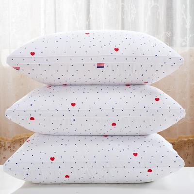 爱情字母羽丝枕护颈保健枕芯安睡助眠枕头