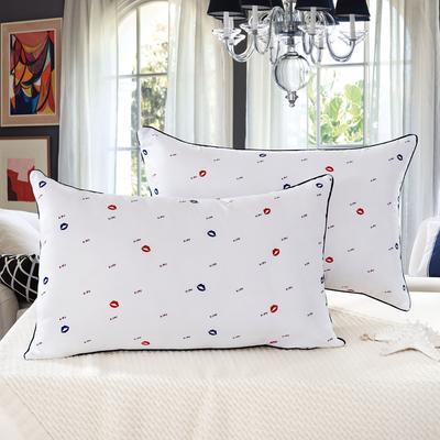 單邊紅塵有愛護頸保健枕芯安睡助眠枕頭