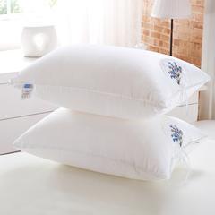 贤内助 全棉茉莉花羽丝枕护颈保健枕芯安睡助眠枕头 薰衣草羽丝枕