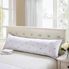 贤内助 红蓝鸭长枕1.5护颈保健枕芯安睡助眠枕头