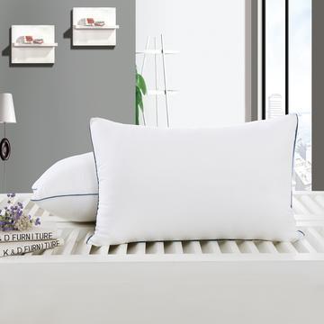 艾迪枕芯 白磨毛舒适枕护颈保健枕芯安睡助眠枕头