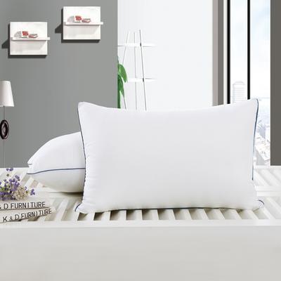 艾迪枕芯 白磨毛舒适枕护颈保健枕芯安睡助眠枕头 白磨毛舒适枕护颈保健枕芯安睡助眠枕头/只