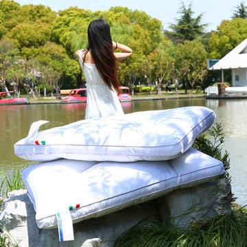 全棉荞麦护颈枕圆形款 护颈保健枕芯安睡助眠枕头枕芯