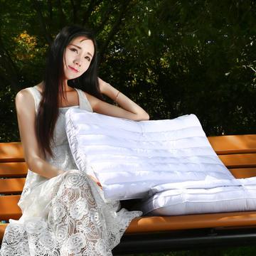 全棉 二合一荞麦超柔护颈保健枕芯安睡助眠枕头