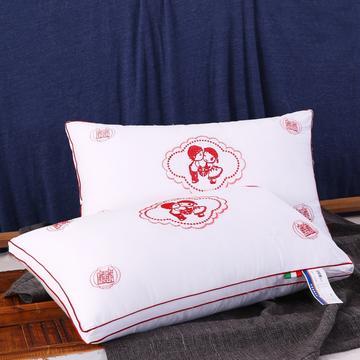 全棉枕芯婚庆枕枕芯情定终身安睡枕保健枕枕芯枕头