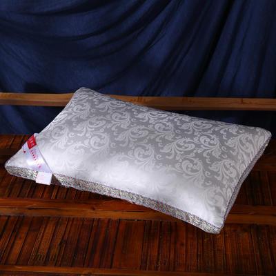 枕芯 提花絲棉枕枕頭枕芯保健枕安睡枕 提花絲棉枕48*74cm