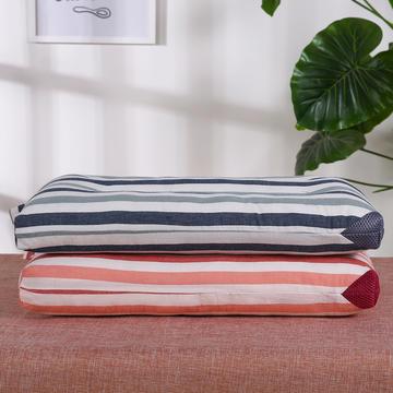 儿童枕全棉条纹水洗枕(40x60)枕头枕芯保健枕护颈枕安睡枕