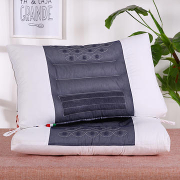 全棉中网决明子磁疗枕芯枕头舒适枕安睡枕