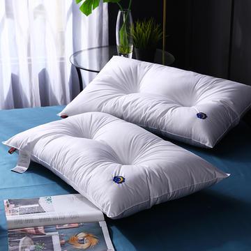 定型双针星月羽丝枕保健枕枕头枕芯  定型枕