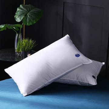 双针星月羽丝枕保健枕枕头枕芯 护颈枕