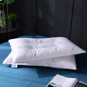二合一定型羽丝保健枕枕头枕芯护颈枕