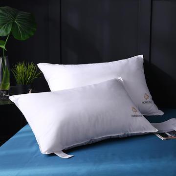 全棉立体双针绣花棉朵羽丝枕枕芯枕头保健枕