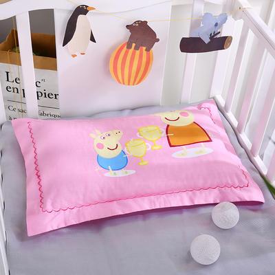 2019新款全棉大版花3250舒適枕舒適枕安睡枕枕頭枕芯 其它 佩琪粉