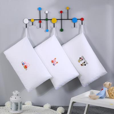 2019新款全棉兒童水洗枕小黃人舒適枕安睡枕枕頭枕芯 30*50 小豬佩奇