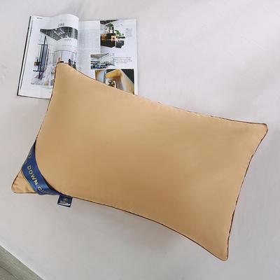 2019新款磨毛希爾頓親膚護頸枕舒適枕安睡枕枕頭枕芯 2