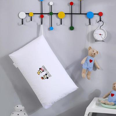 2019新款全棉兒童水洗枕小黃人舒適枕安睡枕枕頭枕芯 30*50 米奇