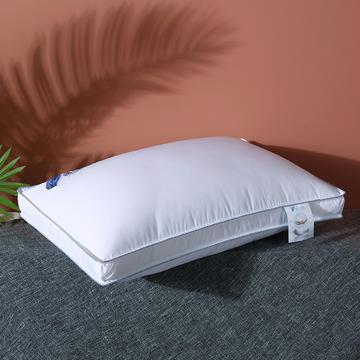 2020新款全棉高密暖心羽丝枕枕头枕芯48*74cm