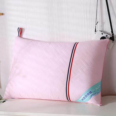 2020新款磨毛热熔水洗保健枕46*72cm/只 粉色